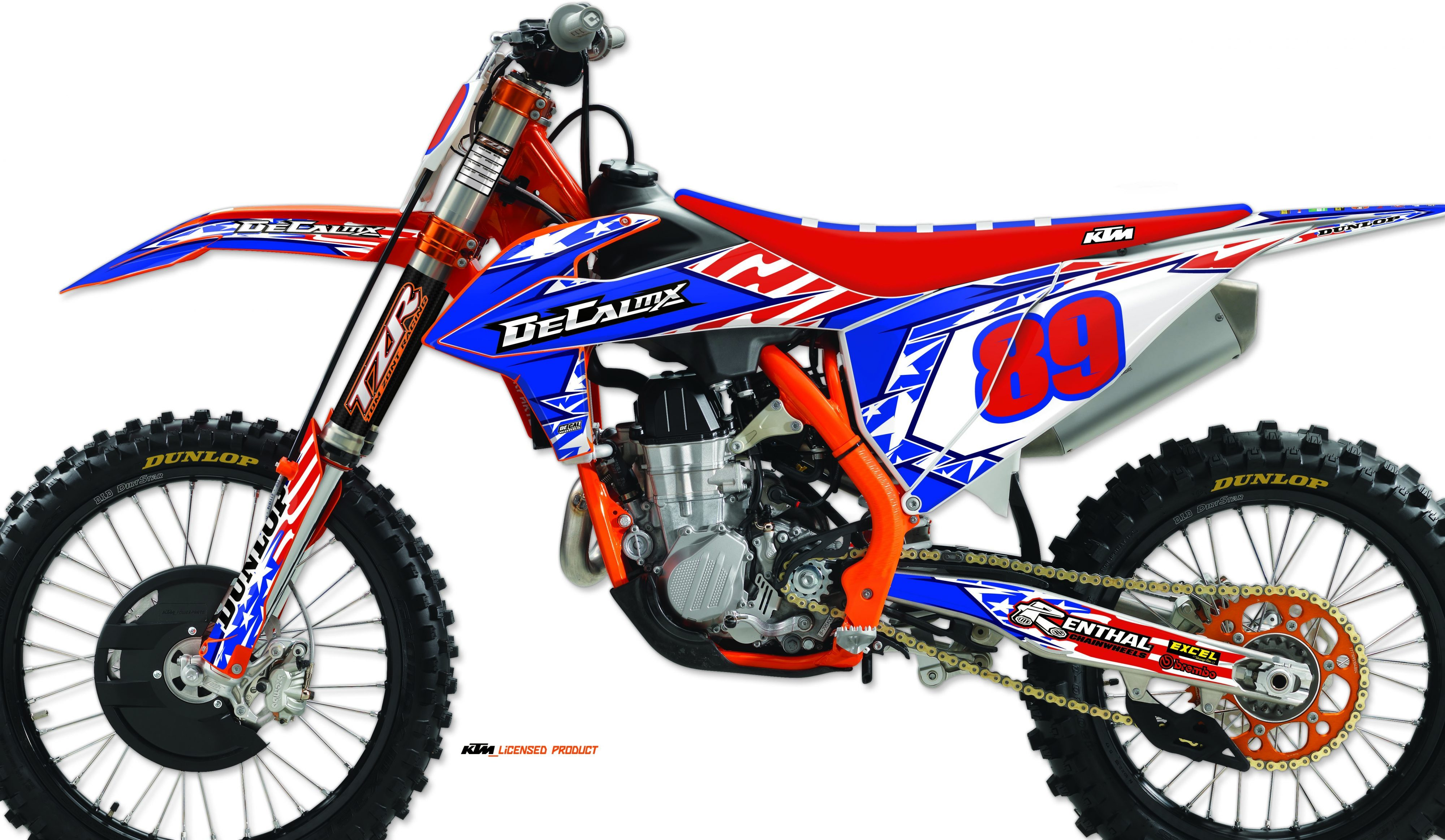 Decal Mx Introduces Stars And Stripes Graphic Kit Motocross Performance Magazine